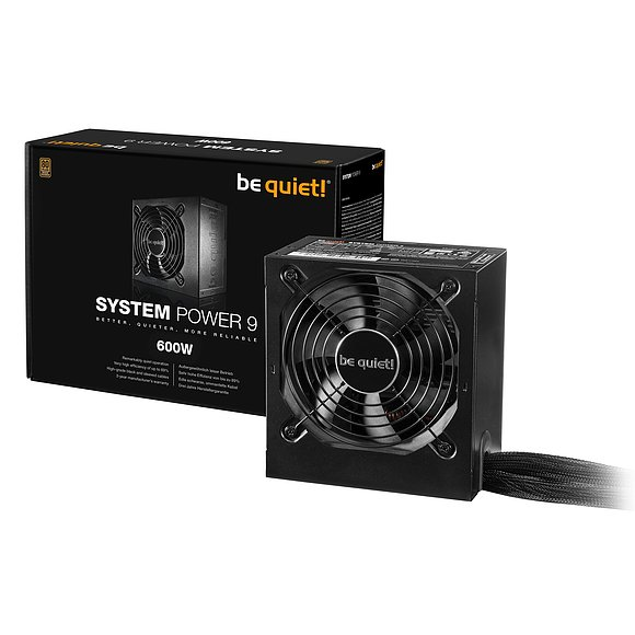 600 W be quiet! BQT System Power 9