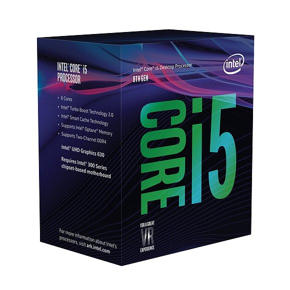 Intel Core i5-8600 3,1 Ghz
