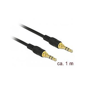 Audio 3,5mm Kl. -> 3,5mm Kl. 1 m