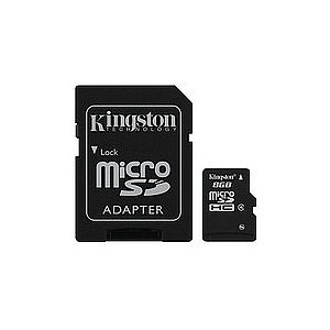 SDHC  8GB SD-Micro Card Kingston